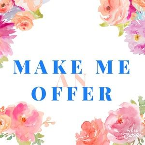 I Accept Almost All Reasonable Offers!!😊
